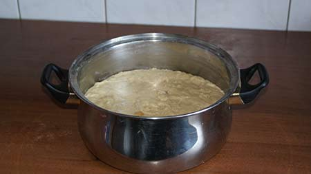 Приготовление пасхи 1
