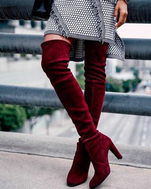 Модні та стильні чобітки