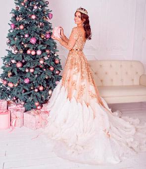 Новогодний наряд принцессы