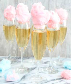Безалкогольный коктейль с шампанского