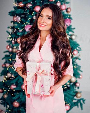 Красивый подарок девушке на Новый год