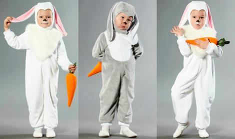 Костюм зайца или кролика на Новый год